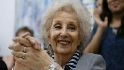 """Estela de Carlotto: """"La muerte de Néstor me dolió tanto como la partida de mi hija"""""""