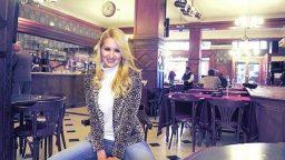 "Carolina Winograd estuvo en ""Malandra Tango Club"""