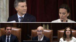 Macri y Larreta inciaron el año legislativo