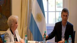 Estela de Carlotto se reunió con Macri y reclamó por la detención de Milagro Sala