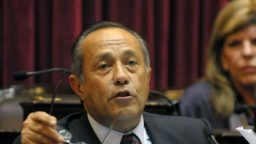"""Adolfo Rodriguez Saa: """"Es una discriminacion y una proscripcion inaceptable"""""""