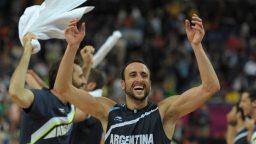 Manu Ginóbili participará de los Juegos Olímpicos de Rio