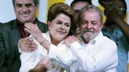 Interrumpen la asunción de Lula Da Silva