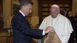El presidente Macri se reunió con el papa Francisco