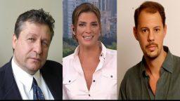 Miguel Wiñazky,Débora Pérez Volpin y Claudio Savoia mostraron preocupación por el supuesto espionaje