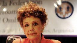 """Eva Giberti: """"Aumenta el delito contra la mujer en cuanto a la crueldad que se ejerce contra ella"""""""