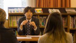 """Tatsuya Kasahara: """"Los jóvenes tienen que tener la oportunidad de viajar a otros países"""""""