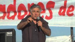 """Jorge Adaro: """"Es política de este Gobierno profundizar la represión a la protesta"""""""