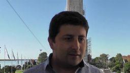 """Hernán Colautti: """"La dinámica del acto se propuso de una manera distinta"""""""