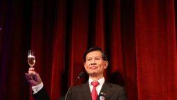 """Huang Lien Sheng: """"Nuestro Gobierno apuesta a la educación"""""""