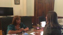 """Carmen Polledo: """"Vamos a seguir trabajando con vocaci?n y devoci?n para la unidad de los argentinos"""""""