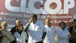 """Guillermo Pacagnini: """"El salario del profesional de la salud está por debajo de la línea de pobreza"""""""
